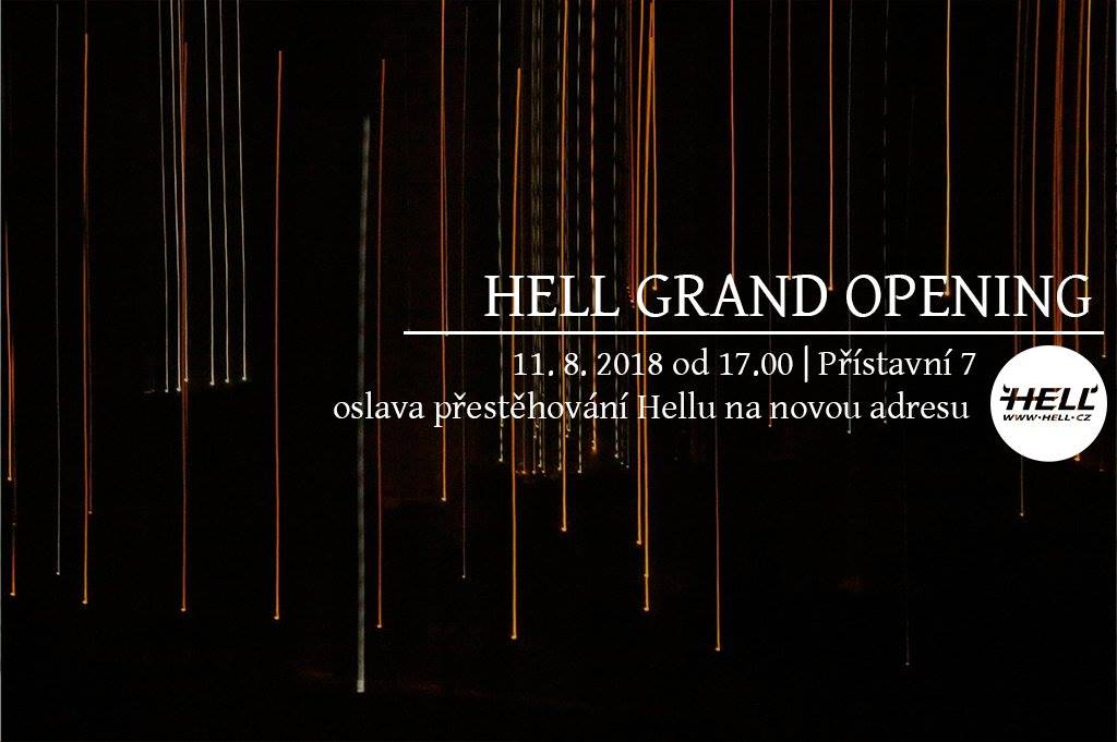 Přijďte se pobavit do pekla! Hell otevírá nové prostory!